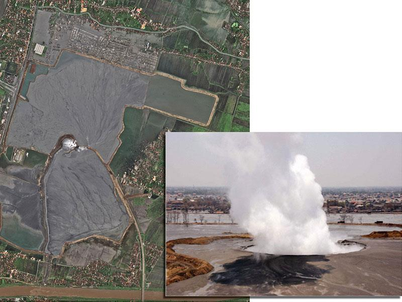 Mud Volcano Cause Discussed