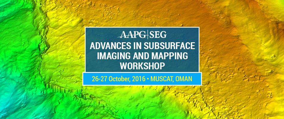 "AAPG/SEG ""Advances in Subsurface Imaging and Mapping"" Workshop"