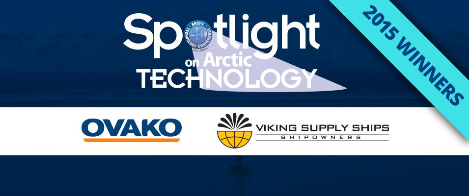 OTC's Arctic Technology Conference (ATC) Awards 2015 Spotlight on Arctic Technology Winners