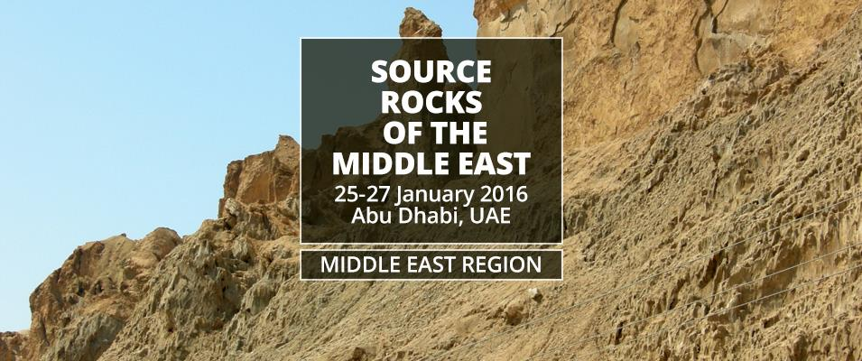 Source Rocks of the Middle East