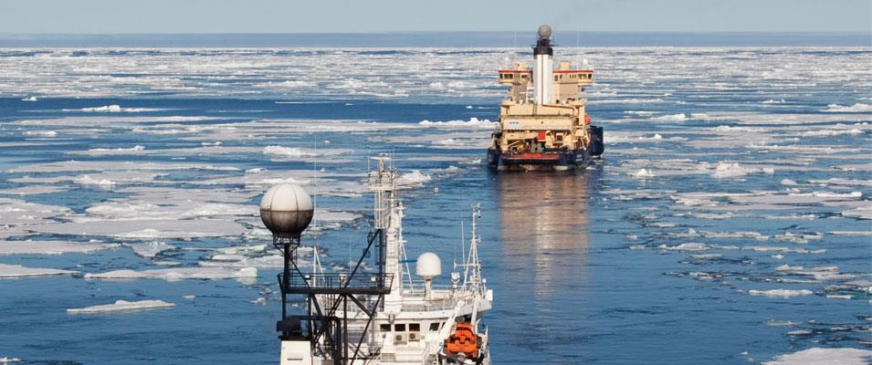 Ice No Longer Ices Seismic Acquisition Crews