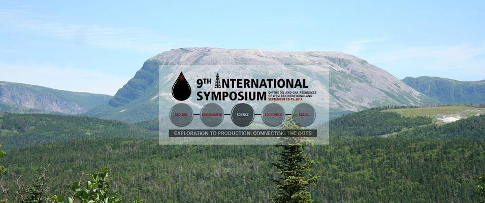 9th International Symposium on the Oil and Gas Resources of Western Newfoundland