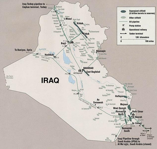 Iraq's Potential Remains Untapped