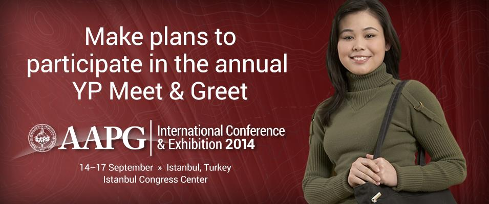 AAPG 2014 International Conference & Exhibition Meet-n-Greet