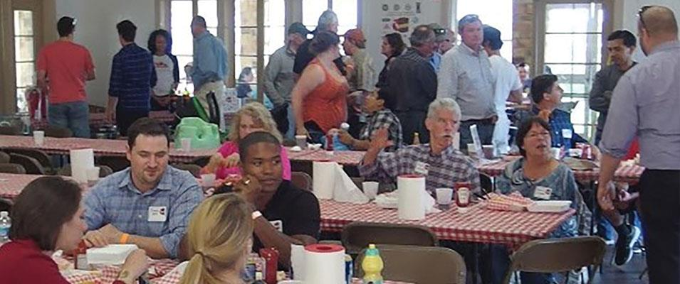 YPs Enjoy Conversation, Cleanups and Crawfish