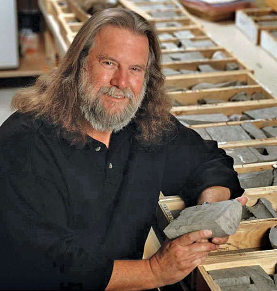 AAPG award winner and short course instructor George Pemberton has a passion for teaching, and for ichnology: