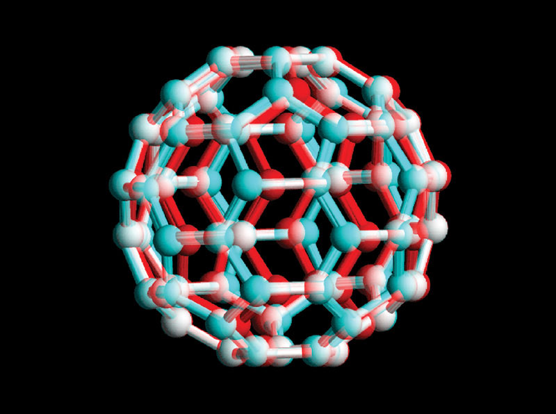 "A buckminsterfullerene – or a ""buckyball"" – is an important part of nanotechnology."