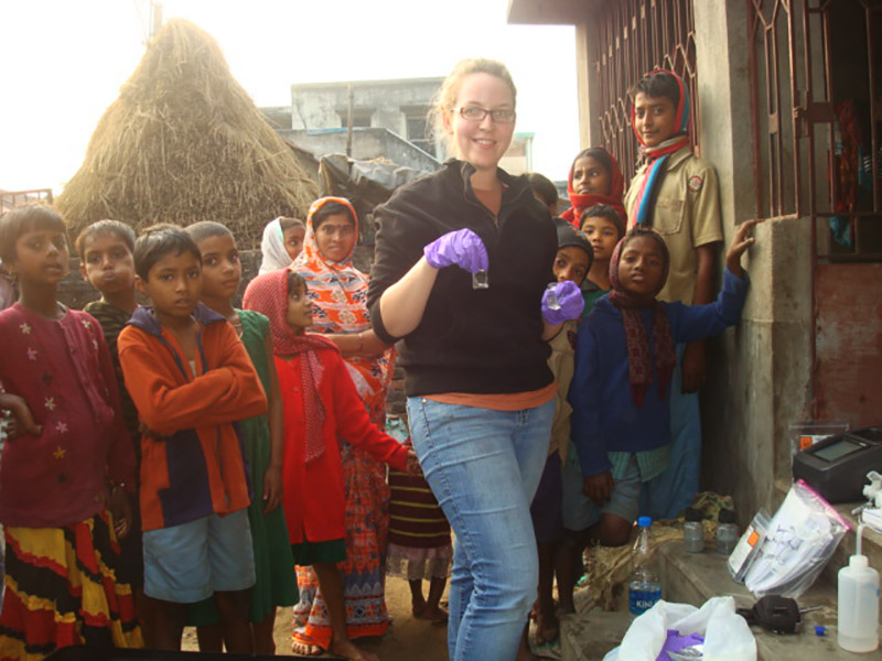 Sophia Ford in West Bengal.