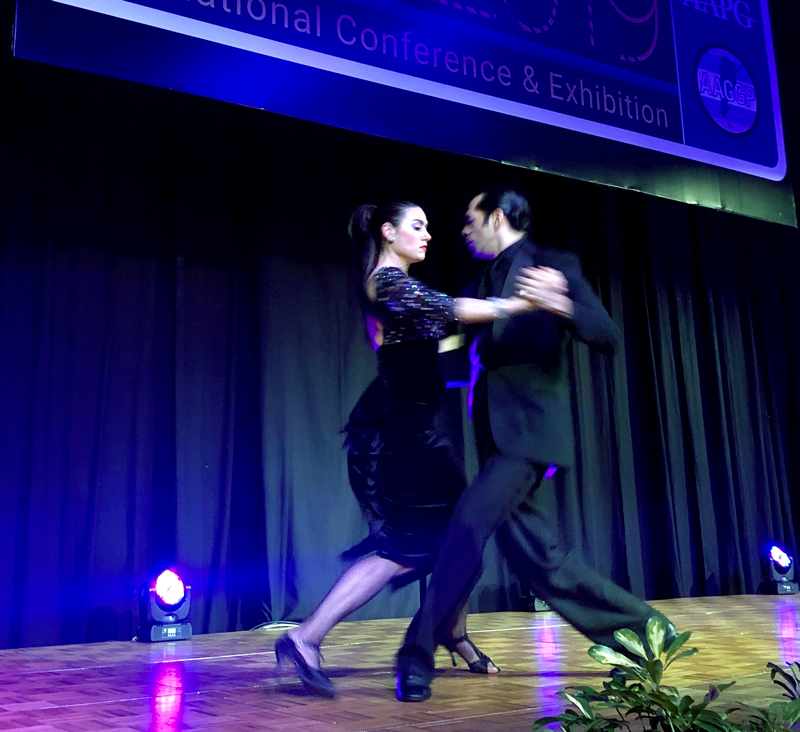 Tango performance at the ICE Buenos Aires Opening Ceremony
