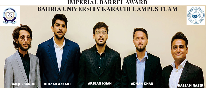 3rd Place: Bahria University (Karachi Campus), Pakistan