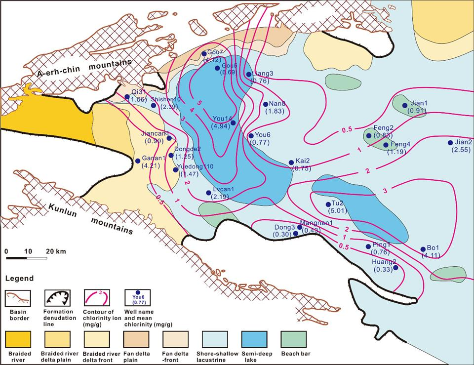 Uncovering Relationships Between Salinity and Hydrocarbon ...Qaidam Basin Geology