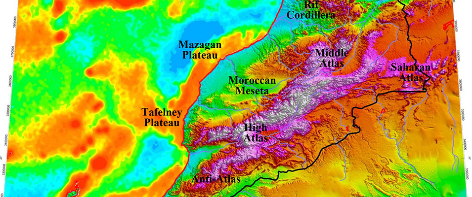 Correlation of Syn-rift Structural Elements Across the Central Atlantic between Morocco and Nova Scotia