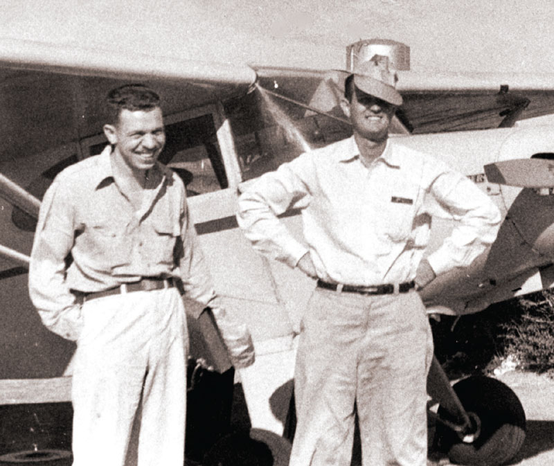 Georges Pardo, left, with Harry Wassall in Nuevitas in Cuba's Camaguey Province, in 1952. Photo courtesy of Georges Pardo