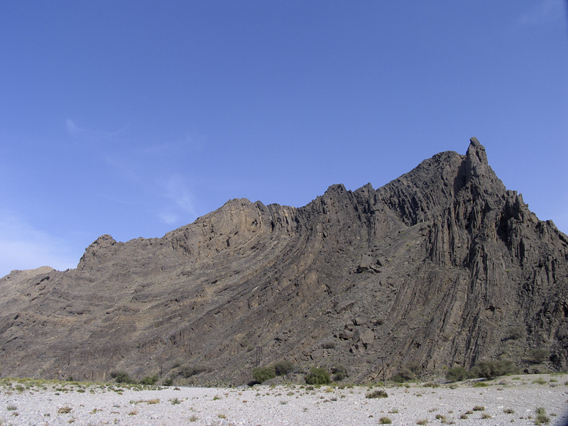 Mega folds in Wadi al Mayh