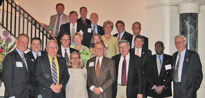 The contingent of AAPG participants gathers during Geosciences Congressional Visits Day in Washington, D.C.