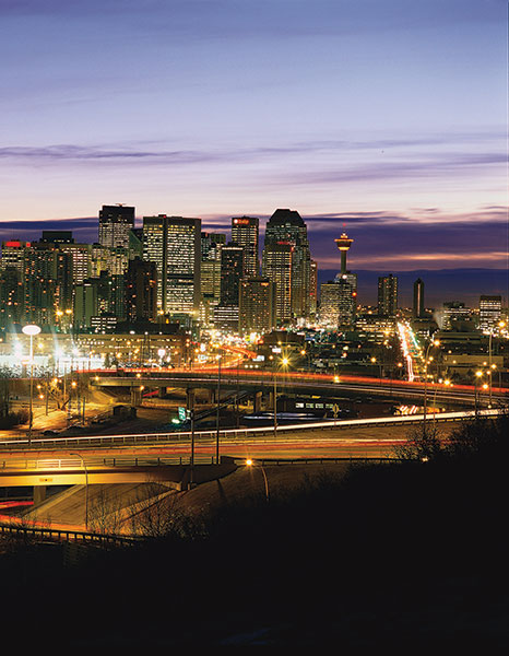 Calgary, site of this year's AAPG International Conference and Exhibition, set Sept. 12-15.
