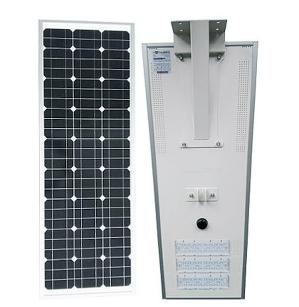 Integrated Solar LED street light provided by MPE Energy