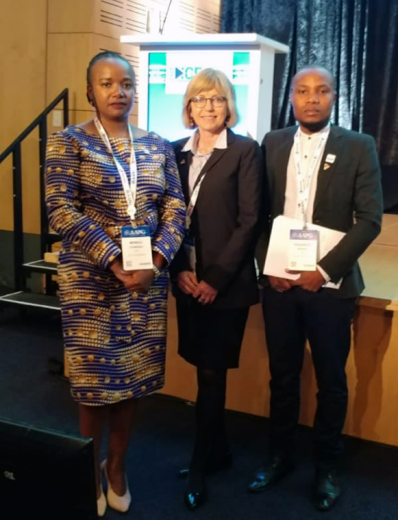 "AAPG ICE, Cape Town 2018 – ENH Presentation:  ""Mozambique Gas discoveries as drive motor for the economy"" (Speaker Monica Juvane, Dr. Susan Nash, AAPG Director of Technology and, Co-speaker Rudencio Morais)"
