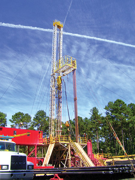 Unfamiliar territory? North Louisiana's Haynesville Shale play is opening up a new part of the state to exploration activity – and drilling success. Above, the Glorias Ranch 16 No. 1. Photo courtesy of Cubic Energy