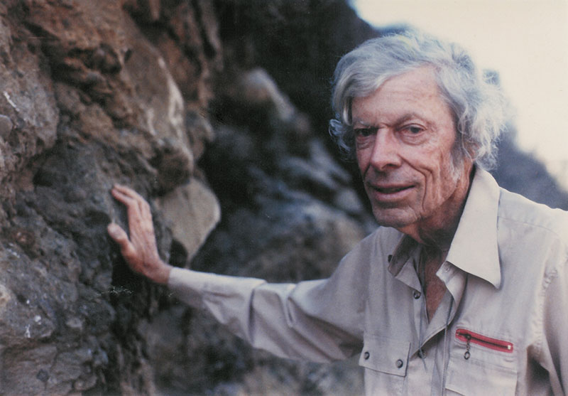 Famed geologist Tom Dibblee's legacy continues with the Dibblee Geologic Map Collection.