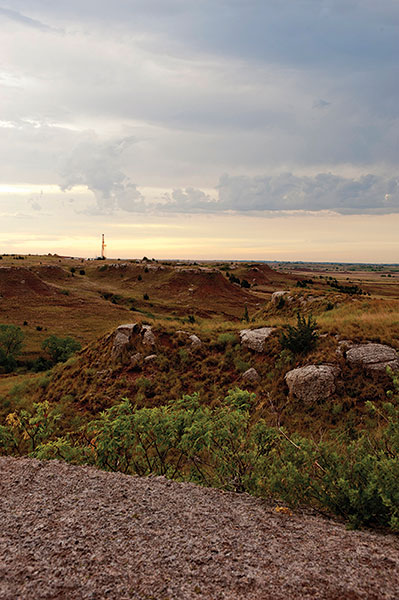 The Mississippi Lime play is found in southern Kansas and, as seen here, northern Oklahoma. Photos courtesy of Chesapeake Energy Corporation