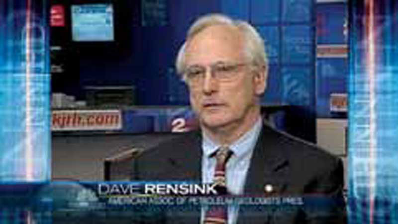 Dave Rensink in July on NBC Nightly News, one of multiple interviews he's provided for the national and international media regarding the Gulf of Mexico.
