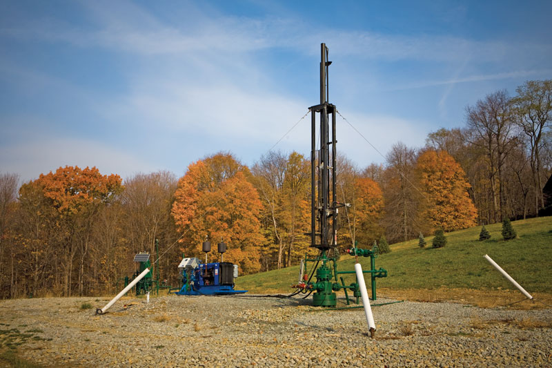 Marcellus Shale production in the Appalachian Basin: Integrated evaluation can help. Photo courtesy of Range Resources