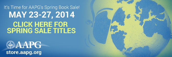 It's Time for AAPG's Spring Book Sale