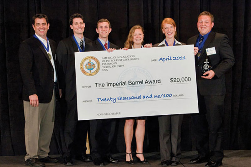2011 IBA winners from The University of Texas in Austin