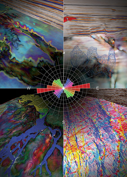Geological expression technology adds another optional tool – and a lot more dramatic color and images – for the fault finding process. Graphics courtesy of ffA