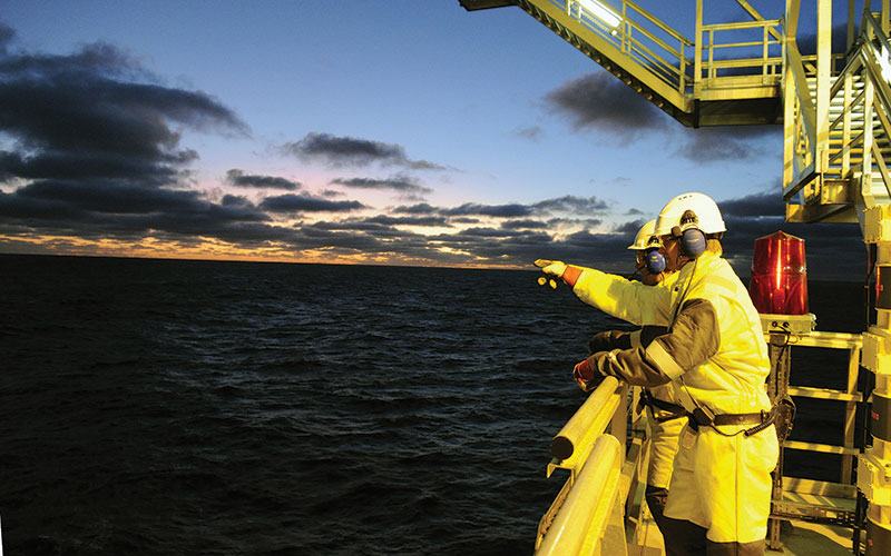 The year got off to a solid start when a Statoil-led group announced a second giant oil and gas discovery in the Barents Sea off Norway at Havis, close to the group's 2011 Skrugard discovery. Photo courtesy of Harald Pettersen / Statoil