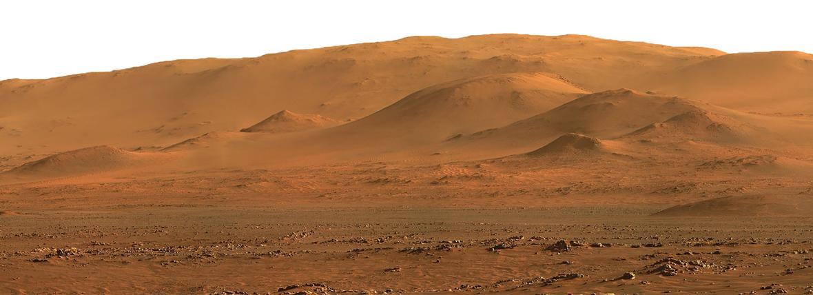 horizon of Mars
