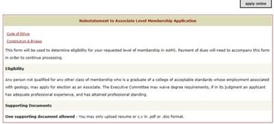 Reinstatement Details