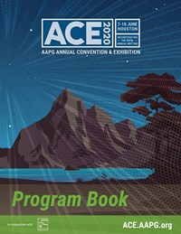 AAPG ACE 2020 Program Book Cover