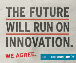 The future will run on innovation - Chevron