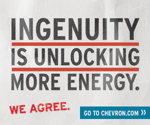 Ingenuity is unlocking more energy - Chevron