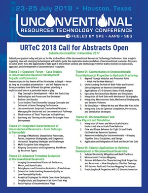 URTeC 2018 Call for Abstracts Brochure