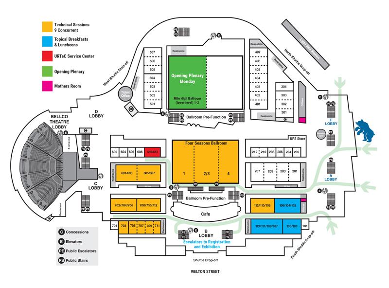 URTeC 2019 Floor Plan
