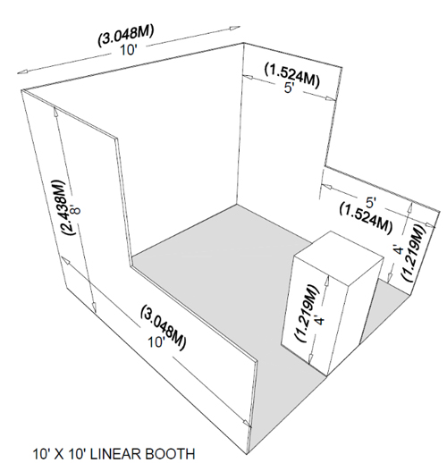 booth drawing