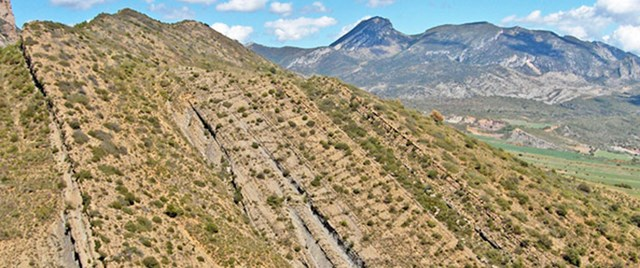 The Sant Corneli anticline in the Southern Pyrenees